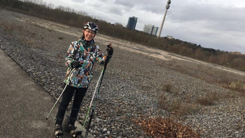 Neujahr CrossSkating Langlauf Phoenix West Dortmund